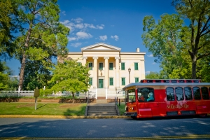 Old Governor's Mansion & Trolley