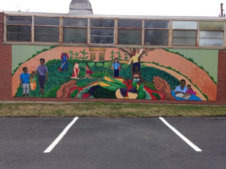 Harrisburg community mural