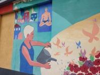wellness mural