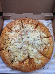 White Pie from Marco's PIzza