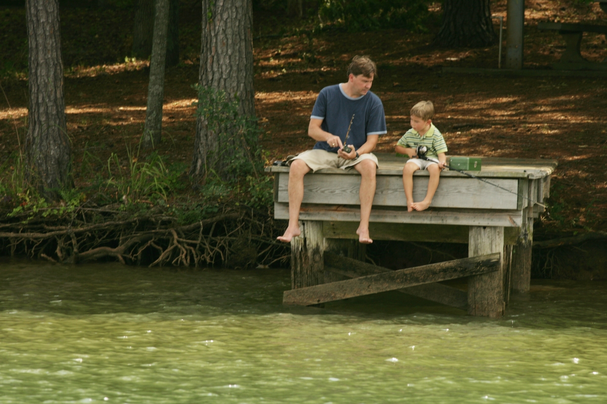 Spend a day with your special guy in milledgeville meet for Lake sinclair fishing
