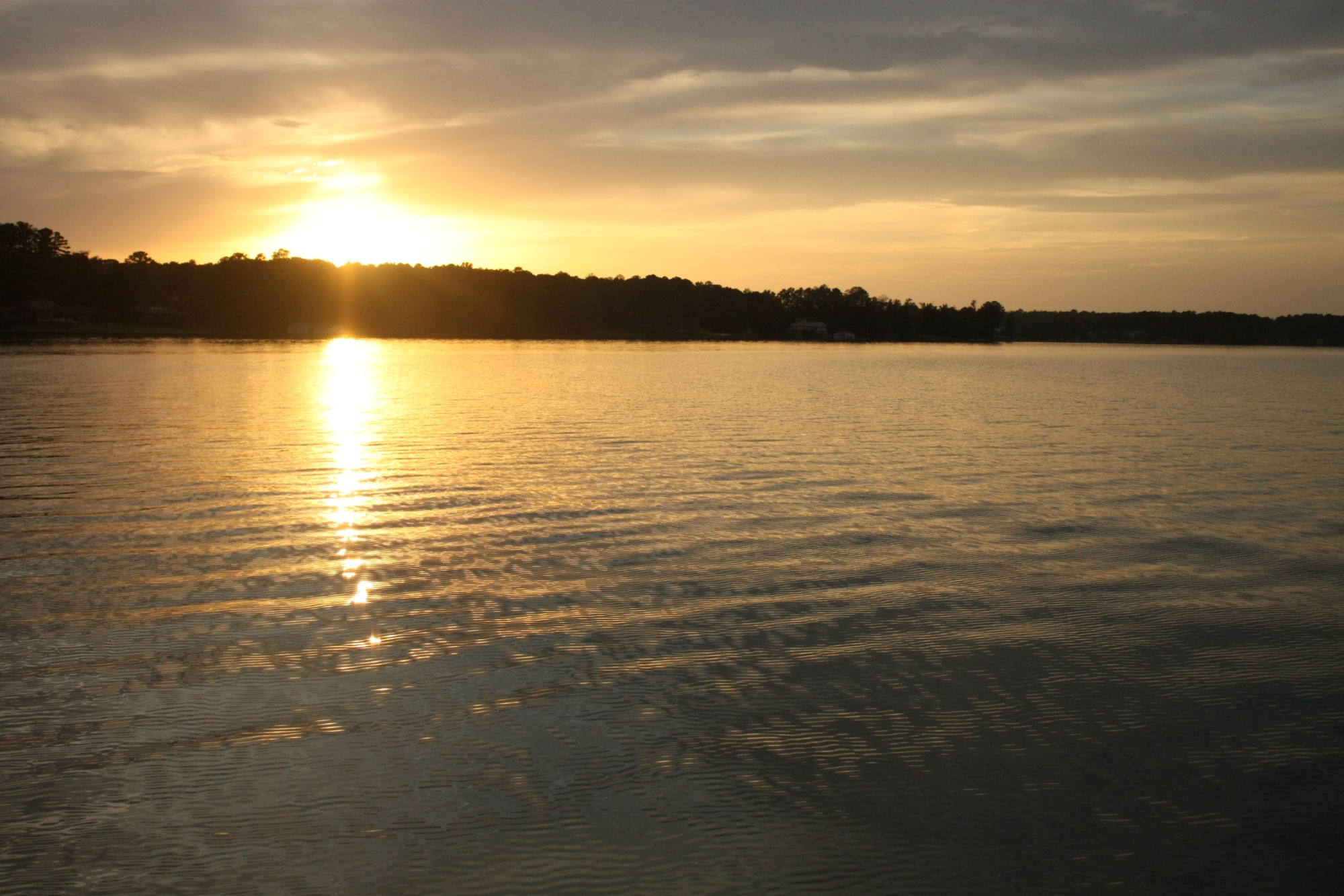 Lake Sinclair Sunset