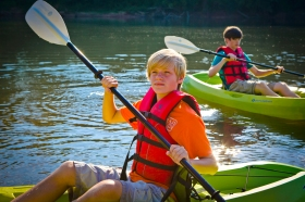 Kayaking the Oconee