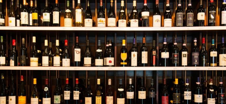 Wine at Aubri Lanes