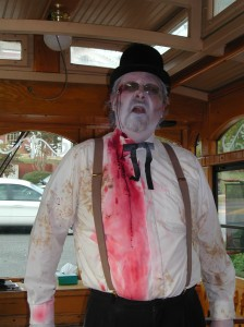 Haunted Trolley Tour Ghost