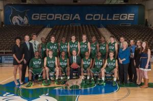 Team GCSU Men's basketball