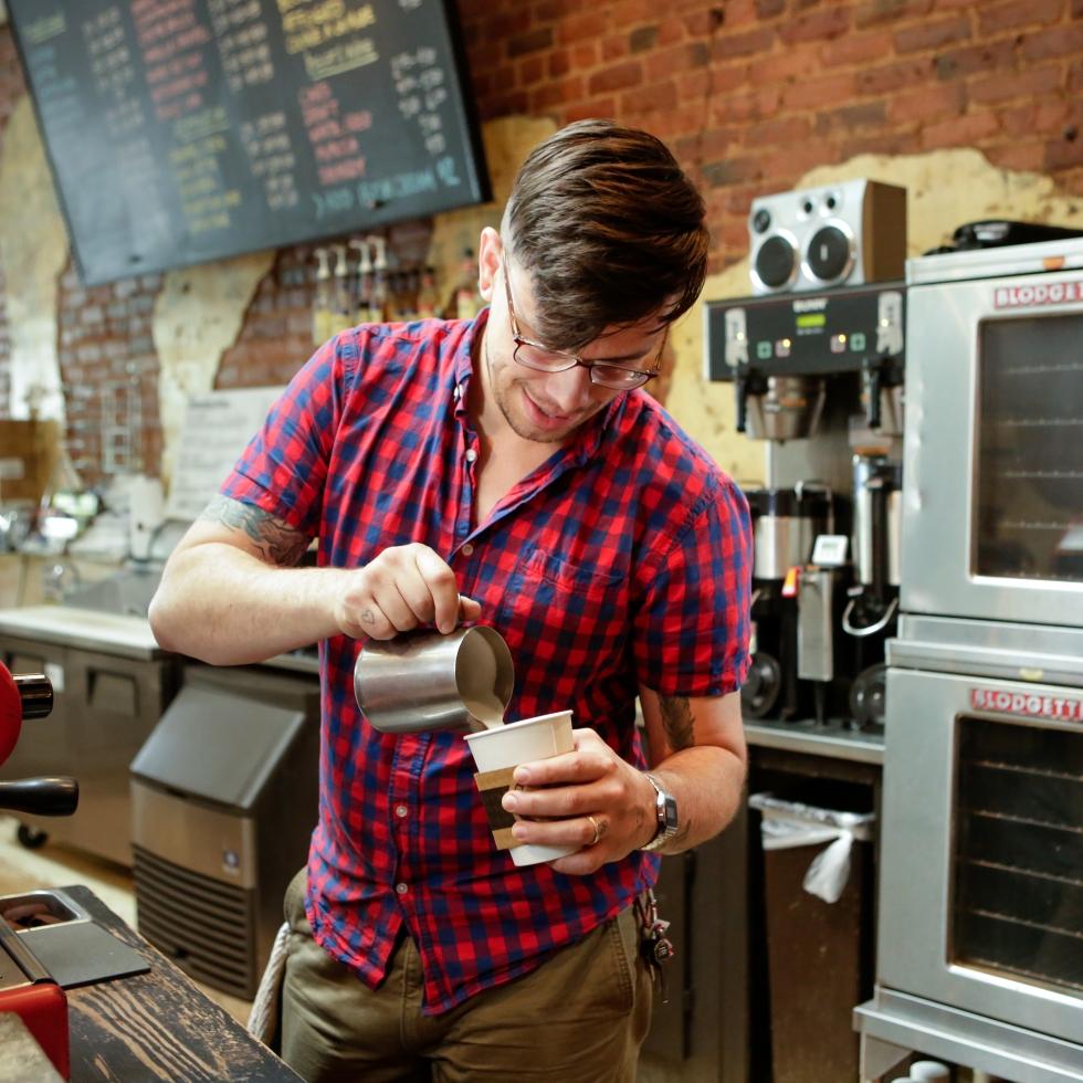 Blackbird Coffee Pour